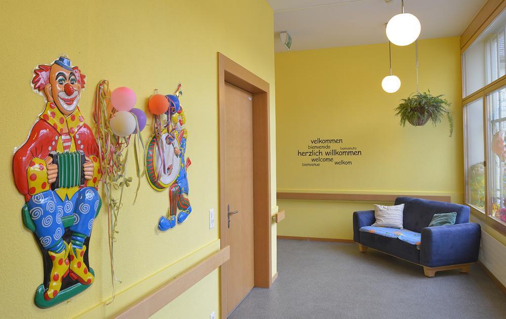 PWG Hoefli Eingangskorridor