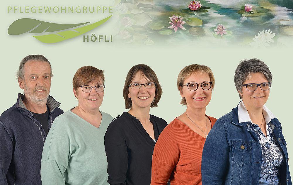 PWG Höfli Gruppenfoto Leitung